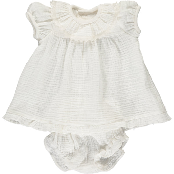 Angelina Baby Set White