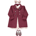Razorbil Burgundy coat