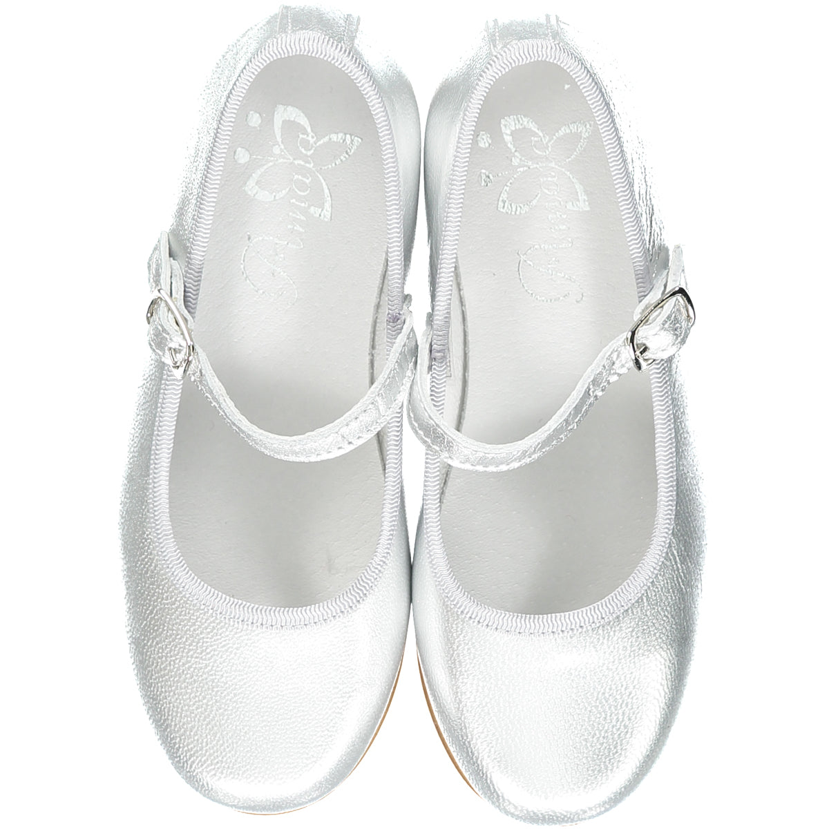 Silver Girl Mary Jane Shoes