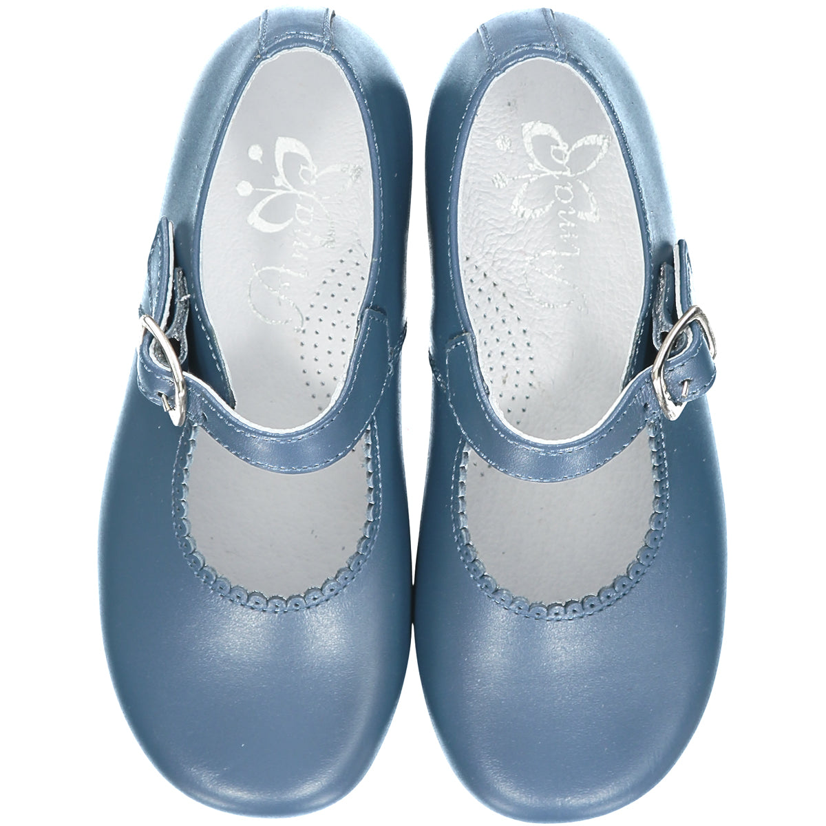 Blue Girl Mary Jane Shoes