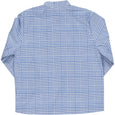 Pereprine Shirt Big Check Navy