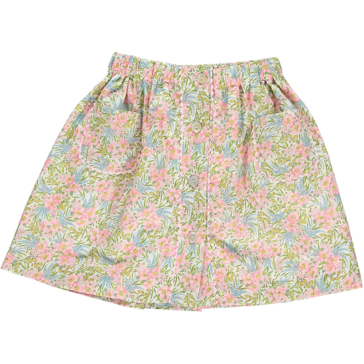 Juliette Skirt Pink Floral Liberty