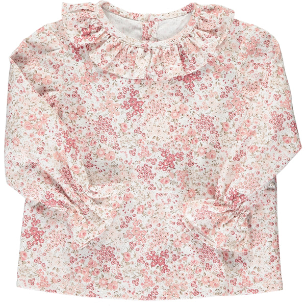 Amelia Blouse Pink Floral