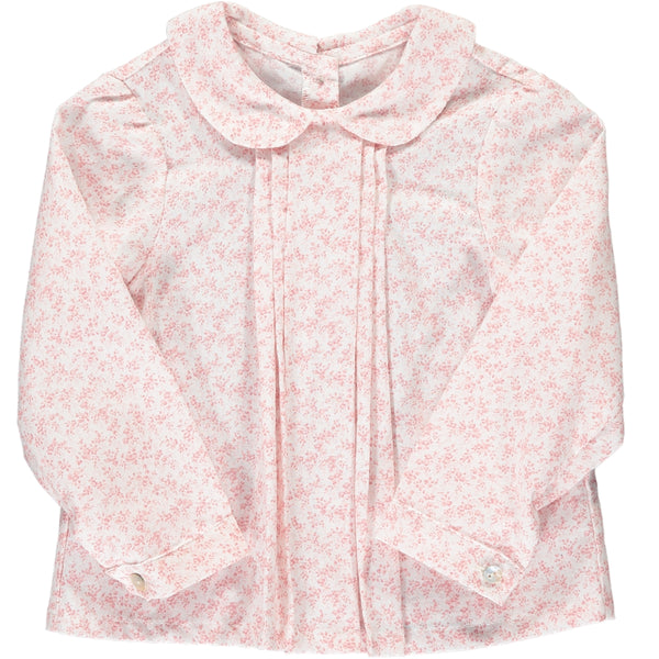 Coline Blouse Dusty Pink Minifloral