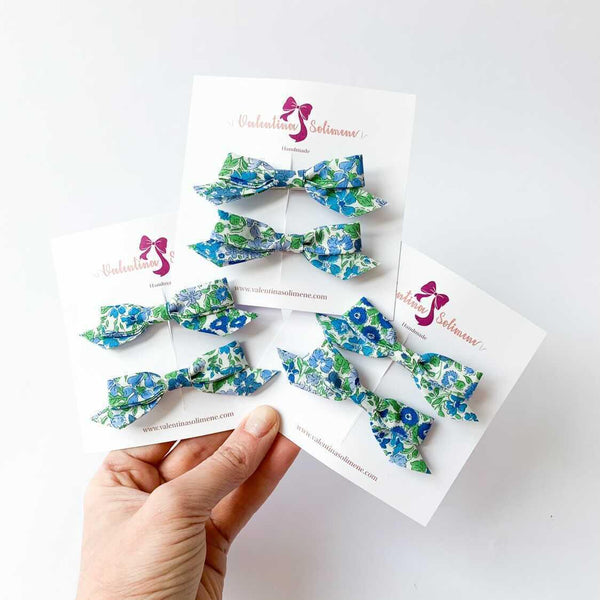 Liberty bow clips Joanna Louise