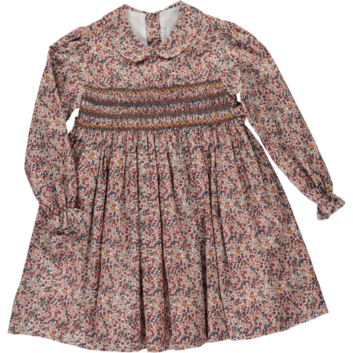 Jujube Dress Brown Floral Liberty print