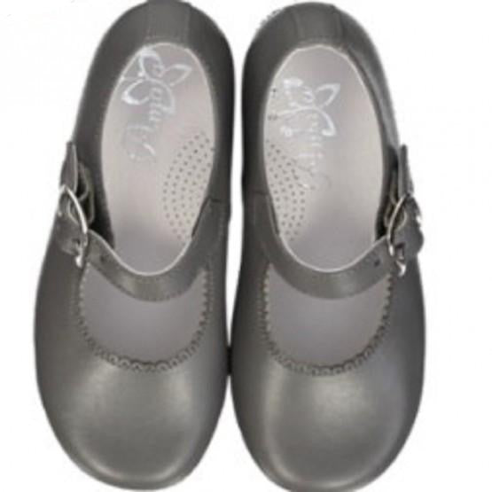 Grey Girl Mary Jane Shoes