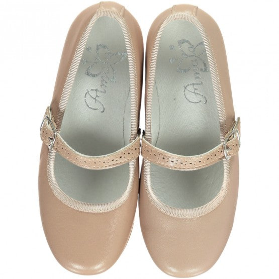 Nude Girl Mary Jane Shoes