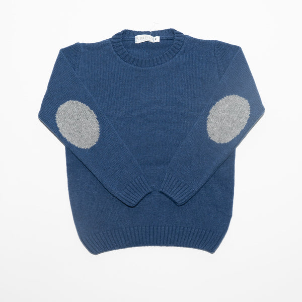 Tommy Plain Jumper Medium Blue