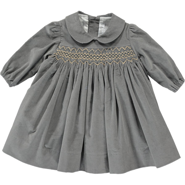 Melly Dress Medium Grey