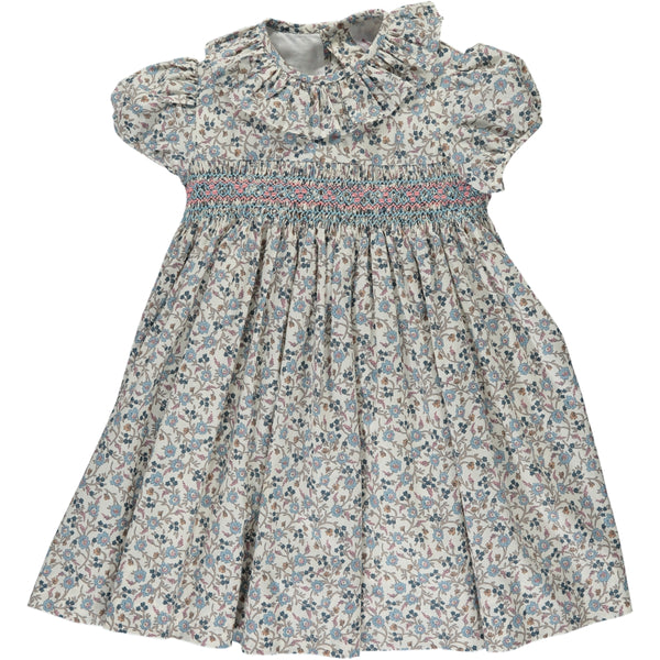 Moohren Dress Liberty Floral Blue