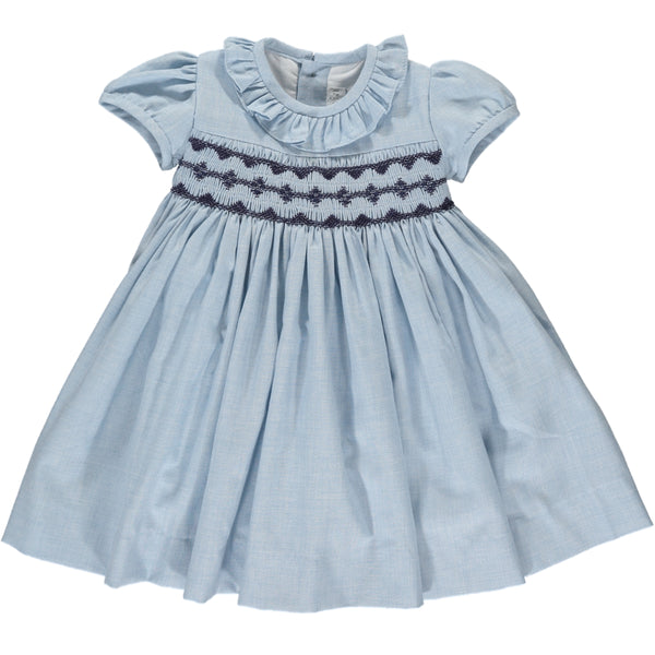Moohren Dress Blue