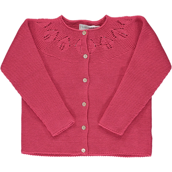 Patricia Cardigan Bright Pink