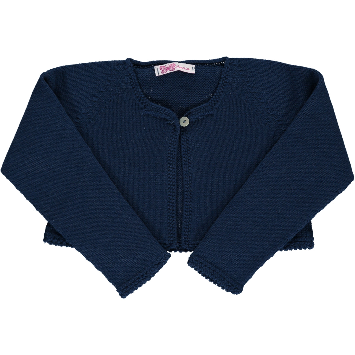 Rose Short Cardigan Navy