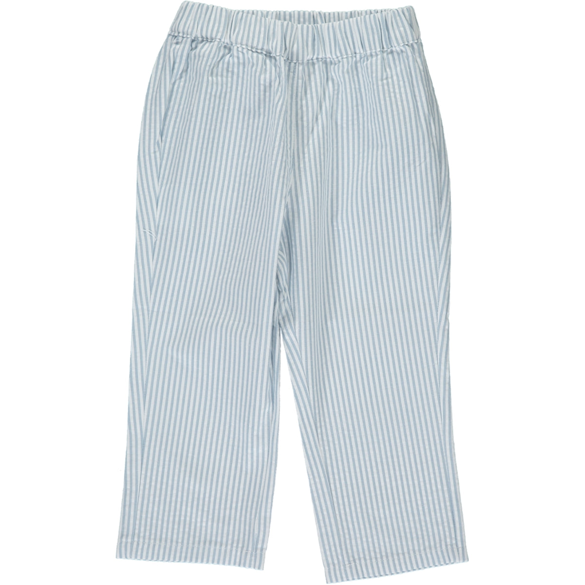 Tito Trousers White/Grey Stripe