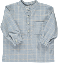Victor Shirt Blue Prince of Wales Check