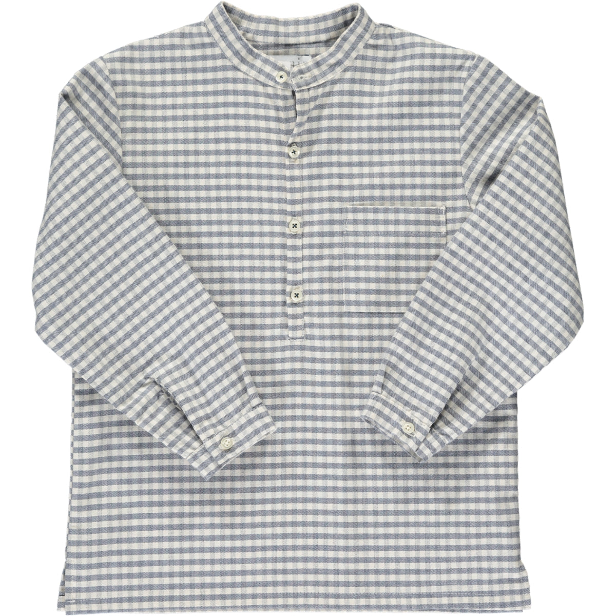 Victor Shirt Grey/Beige Check