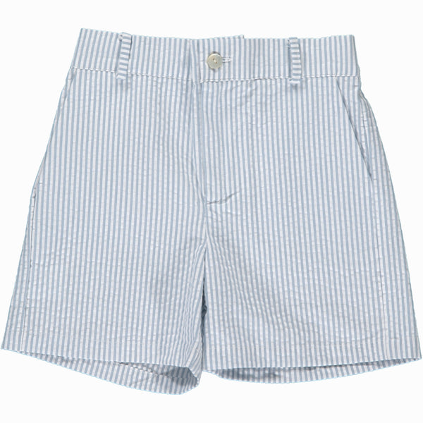 Gull Bermuda Shorts White/Grey Stripe