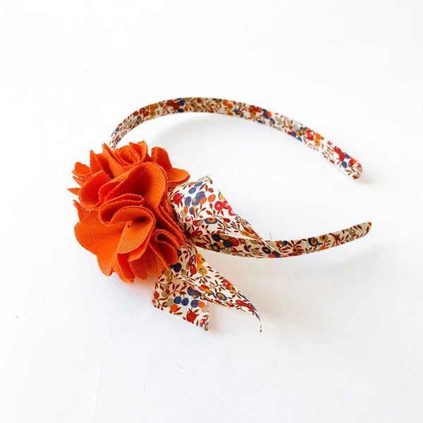 Liberty and Pompom Headband wiltshire