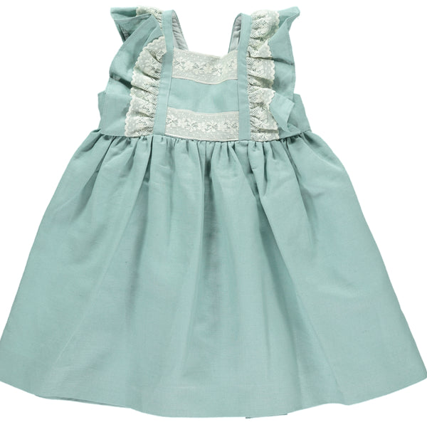 Snowdrop Dress Green