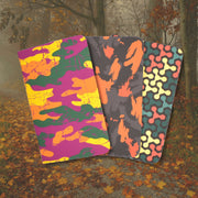 AlioModo Pocket Notebooks - Camo - Covers - Notegeist dot com