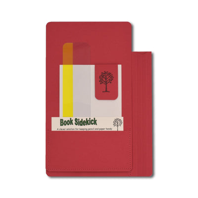 Book Sidekick - Red - Notegeist dot com