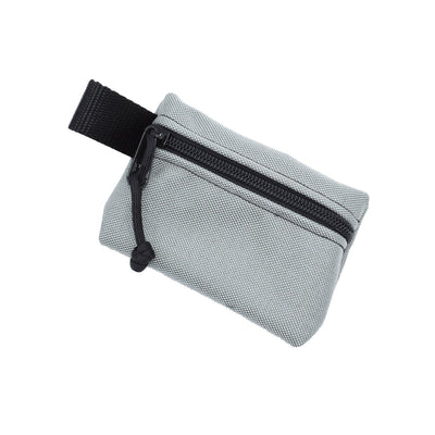 Bulsa Bags - Nugget Zipper Pouch - Grey - Notegeist dot com