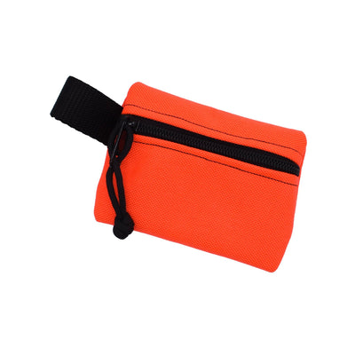 Bulsa Bags - Nugget Zipper Pouch - Orange - Notegeist dot com