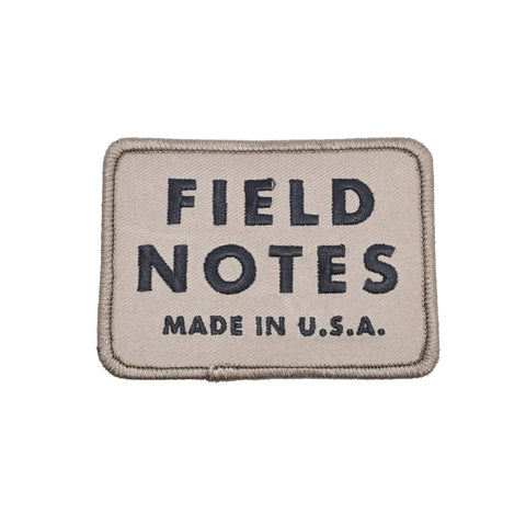 DDC Field Notes Patch - Brown