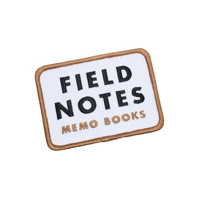 DDC Field Notes Patch - White