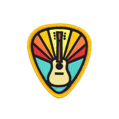 DDC Guitar Pick Patch - Notegeist dot com