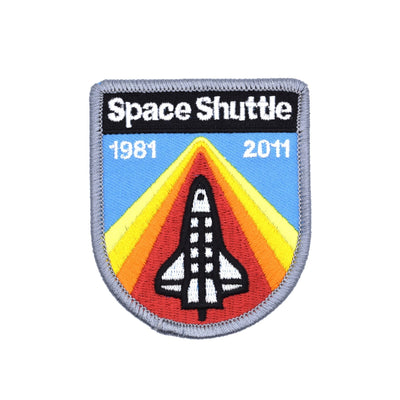DDC Patch - Space Shuttle - Notegeist dot com