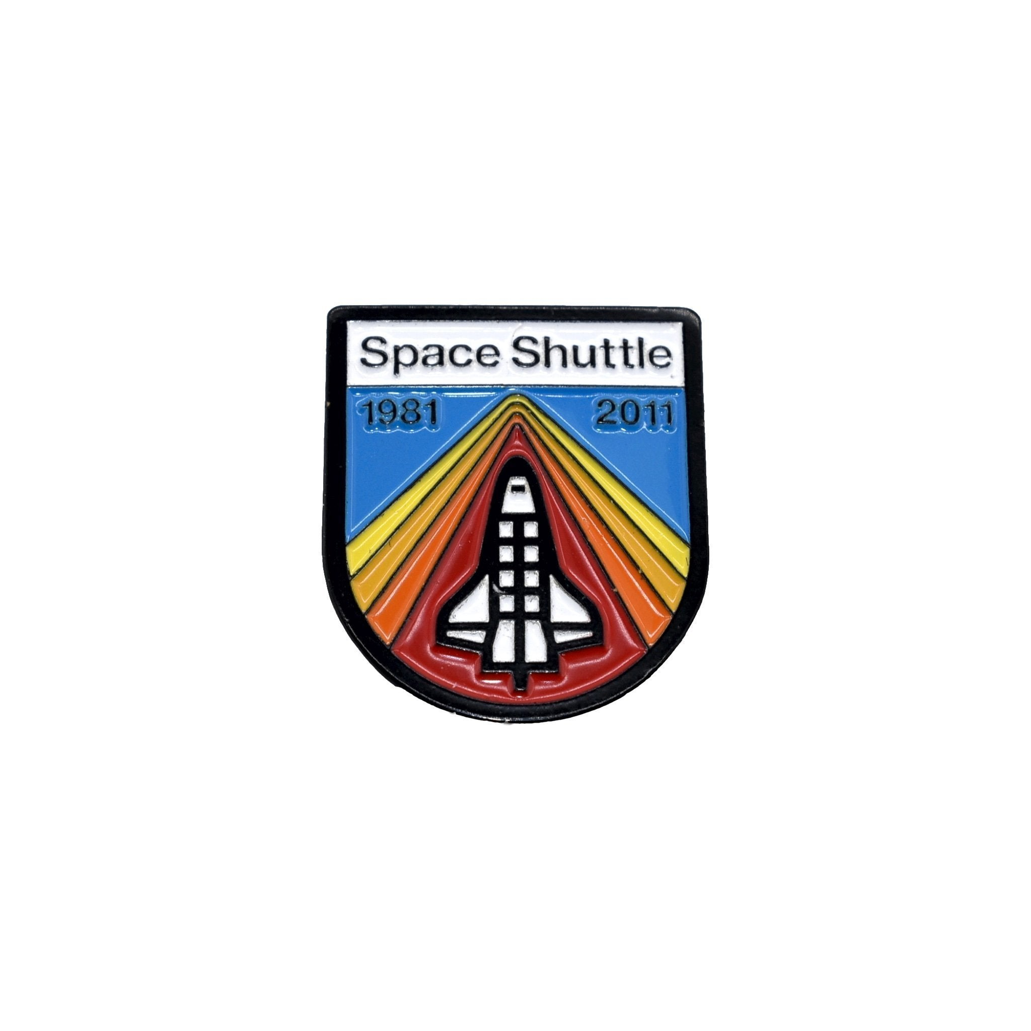 DDC Enamel Pin - Space Shuttle