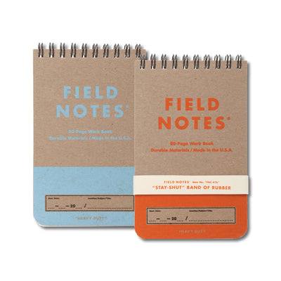 Field Notes Heavy Duty - Notegeist dot com