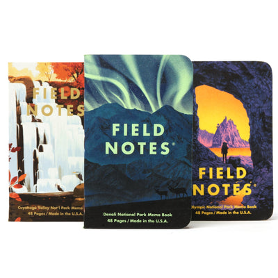 Field Notes National Parks - Series E - Notegeist dot com
