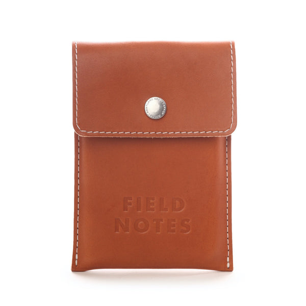 Field Notes Pony Express Leather Pouch - Front - Notegeist dot com