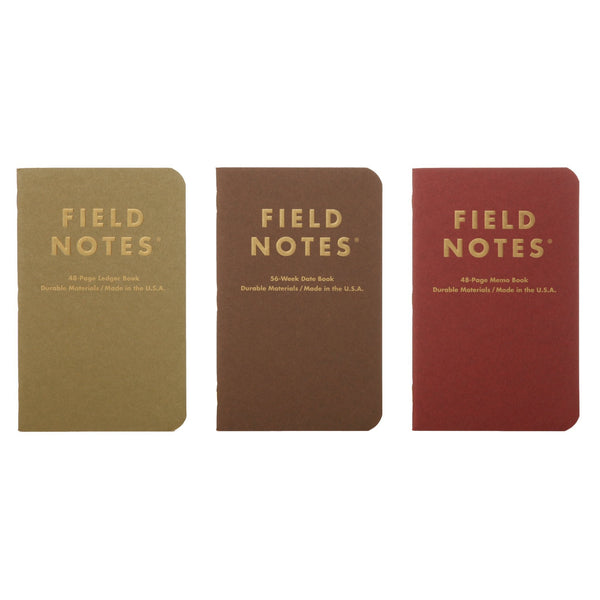 Field Notes Ambition - Covers - Notegeist dot com