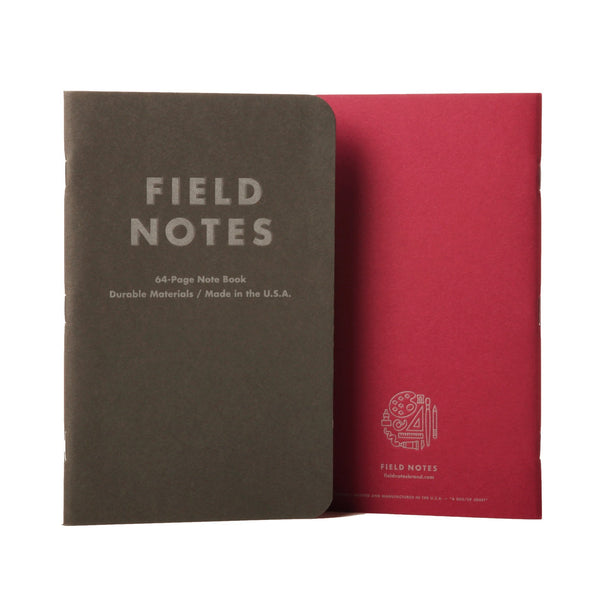 Field Notes Arts & Sciences - Covers - Notegeist dot com