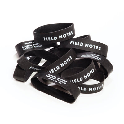 Field Notes Bands of Rubber - 12 Pack - Notegeist dot com