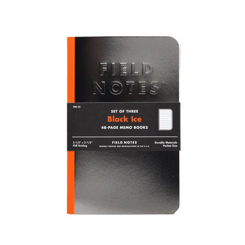 Field Notes Black Ice - Notegeist dot com