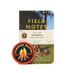Field Notes Campfire - Notegeist dot com
