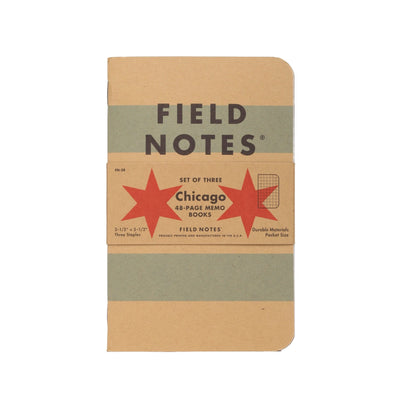 Field Notes Chicago - Notegeist dot com