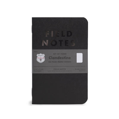 Field Notes Clandestine - Notegeist dot com