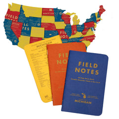 Field Notes County Fair - Michigan - Covers-Map - Notegeist dot com