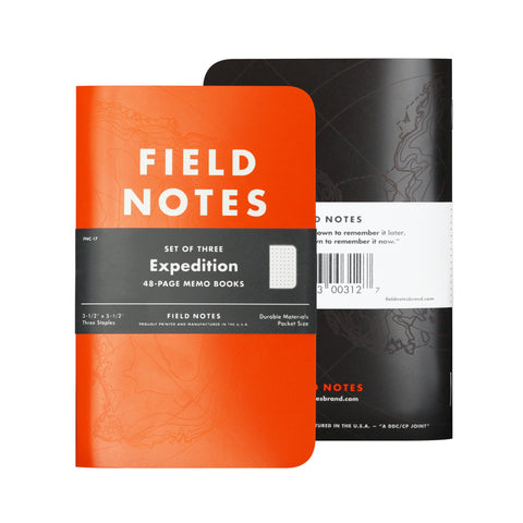 Field Notes Expedition - Notegeist dot com
