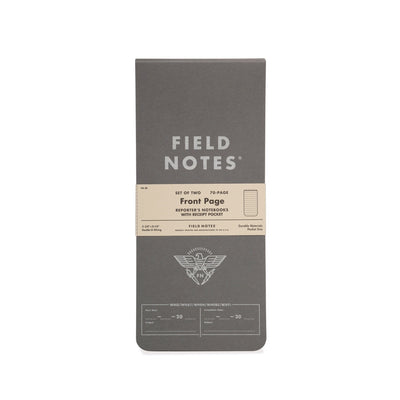 Field Notes Front Page - Notegeist dot com