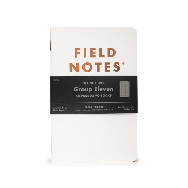 Field Notes Group Eleven - Notegeist dot com