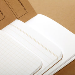 Field Notes Kraft Original - Page Layouts - Notegeist dot com