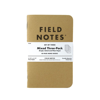 Field Notes Kraft Original - Mixed Paper - Notegeist dot com