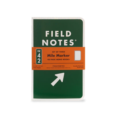 Field Note Mile Marker - Notegeist dot com
